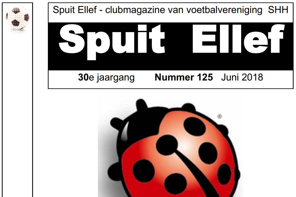Clubblad Spuit Ellef 125 Online