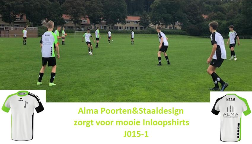 Alma Poorten&Staaldesign zorgt voor mooie Inloopshirts J015-1