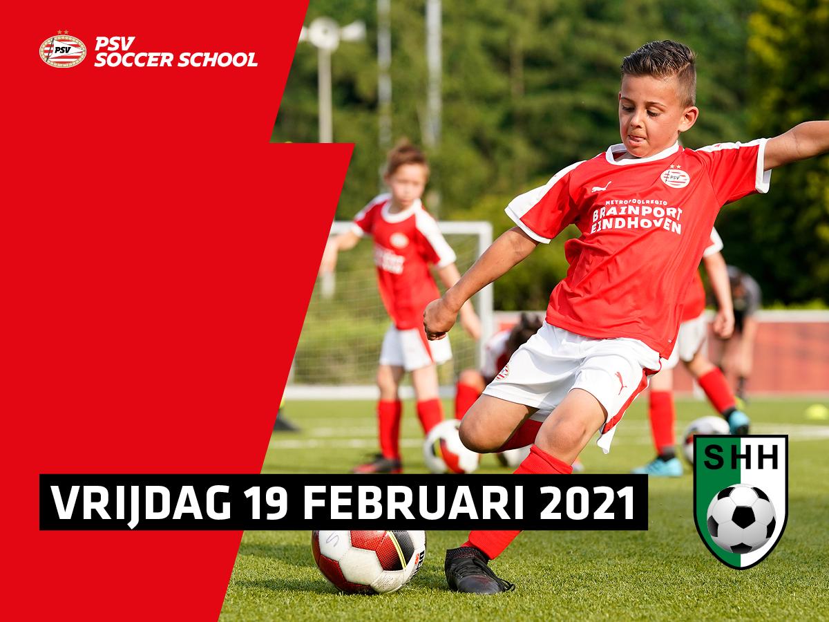 Volgeboekt! 😞 PSV Soccer School on Tour bij SHH Herten op vrijdag 19 februari!