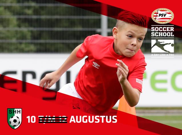 PSV Soccer School on Tour bij SHH Herten op maandag 10 augustus!