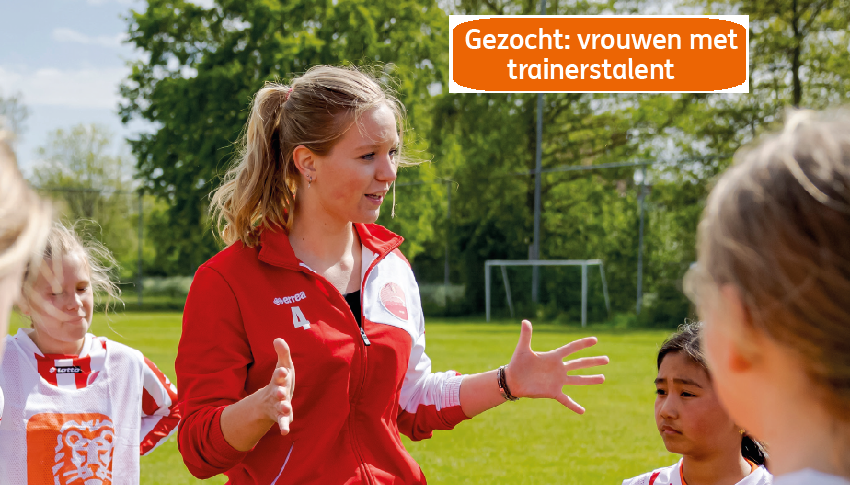 Gezocht: Vrouwen met trainerstalent