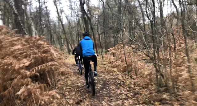 Mountainbiken met de J013-1 2