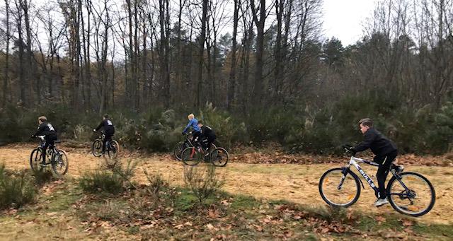 Mountainbiken met de J013-1 3
